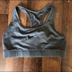 Grey Nike Sports Bra
